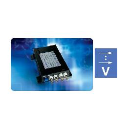 Low Power LED Fiber Status Consumption To Convert Video Signal Optic Video Links