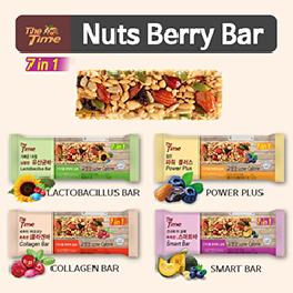 [The time]★nuts berry bar★Energy bars / Lactobacillus Bar / power plus / Collagen Bar / Smart Bar /