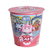 Robocar Poli Cotton Candy (Strawberry Flavor)