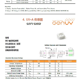 GUVB-T11GD (TO 46 PKG)