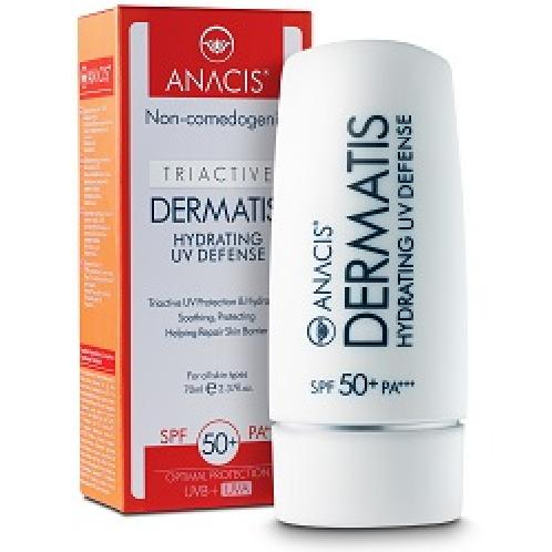 DERMATIS HYDRATING UV DEFENSE | sunscreen , suncare, skincare, spf50, uva, uvb, uv, defense
