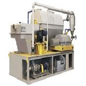 Multi stage sludge filtration machine