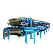 CONTINUOUS PANEL LINE - Sandwich  Car seat Pannel Line Cooling Conveyor & Plants
