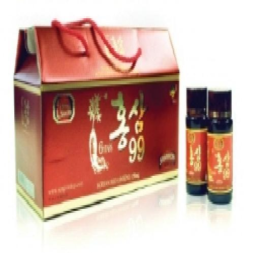 KORENA RED GINSEG DRINK (HONGSAM99) | GINSENG DRINK, REDGISENG, VIETNAM DRINK, KOREAN RED GINSENG
