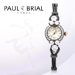 PAUL BRIAL Luxury Korea Made Jewerly Watch Stainless Steel Rose Gold Silver