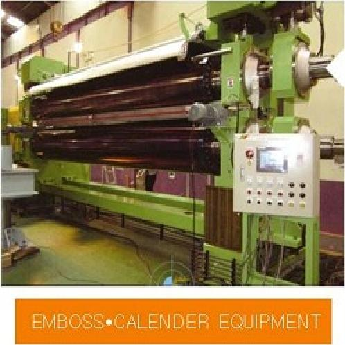 FILM・Non-woven Manufacturing Equipment | calender, emboss, paper machine, spun lace