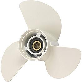 Aluminum propeller for Yamaha outboard motors