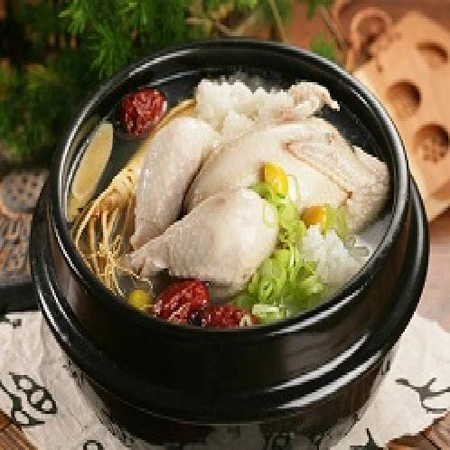 Ginseng Chicken Soup | Processed food, Frozen food, Instant food, Korean food, Soup, Stock, Broth