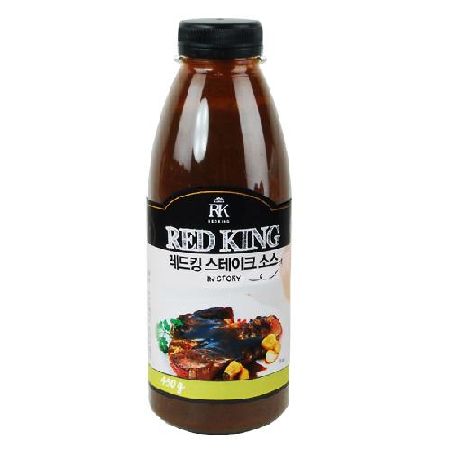Red King Steak Sauce레드킹 목살스테이크 소스 | sauce,cooking,soy sauce,easy