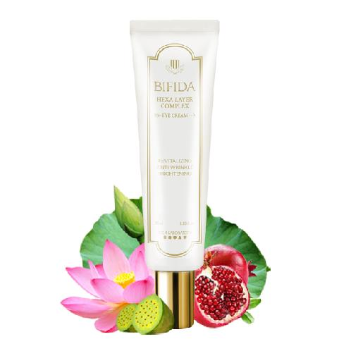 BIFIDA HEXA LAYER COMPLEX EYE CREAM | volufiline tm ,eye cream, natural cosmetic, brightening eye cream, skin care, eye care,anti-wrinkle eye cream,fermented bifida, probiotics,moist eye cream, fresh eye cream, no aqua,seaweed extract,yeast fermented fitrate,lactobacillus fermentation