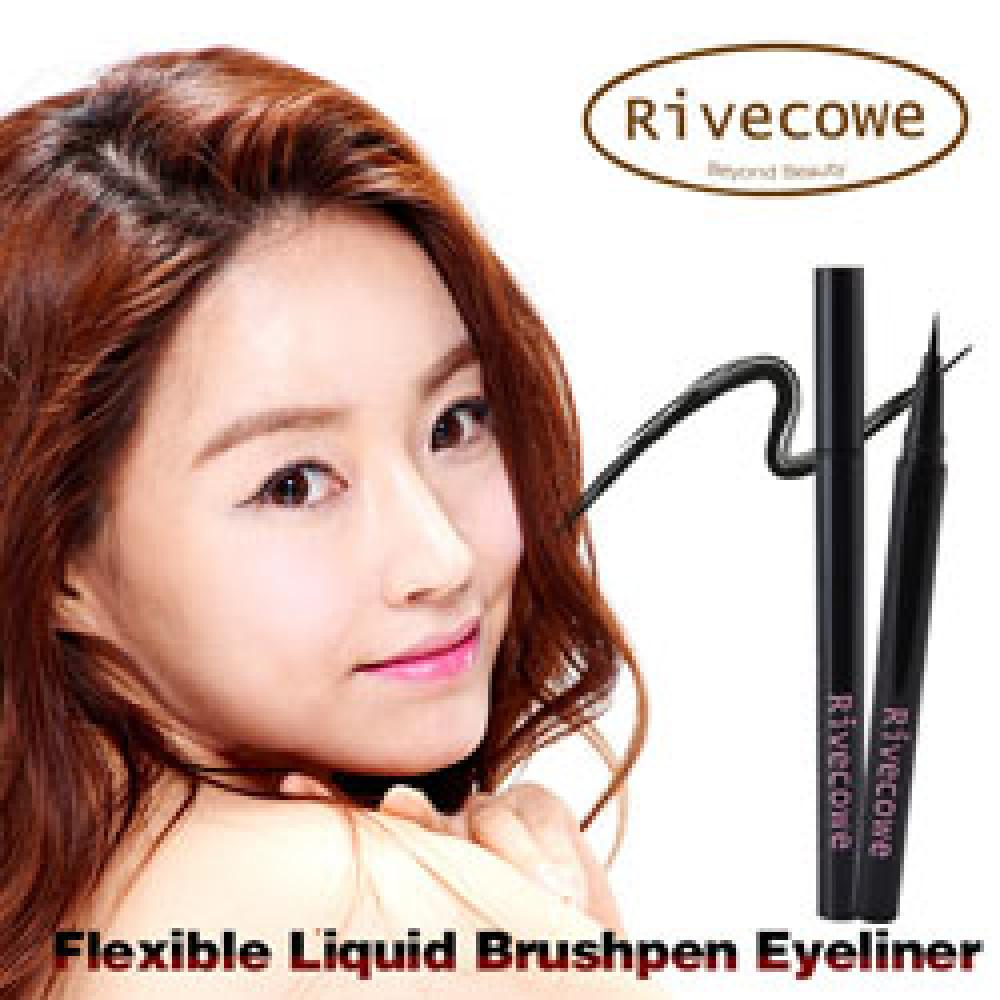 Rivecowe Flexible Liquid Brushpen Eyeliner