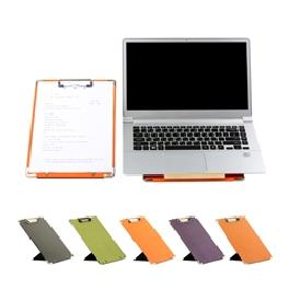 SEWOOSE CLIPBOARD Paper 5 Colors Folding Covered Multi Artificial Leather Best
