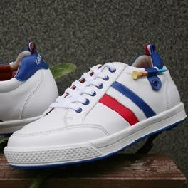 KR-405 Olympic White Spike-less Golf Shoes