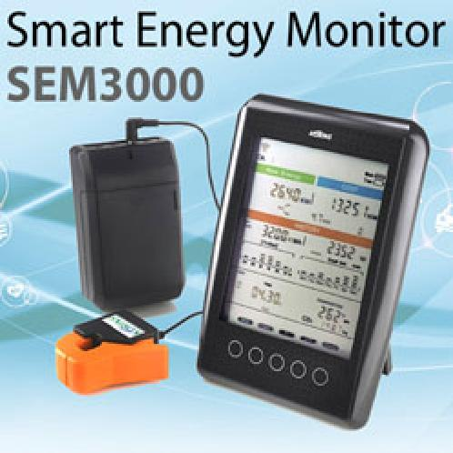MyWatt Smart Energy Monitor SEM3000 | MyWatt Smart Energy Monitor SEM3000 , Real-time power consumption measurement , Daily accumulated watts