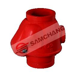 Water flow in one direction and prevent flow in the opposite direction Swing Check Valve 4 inch