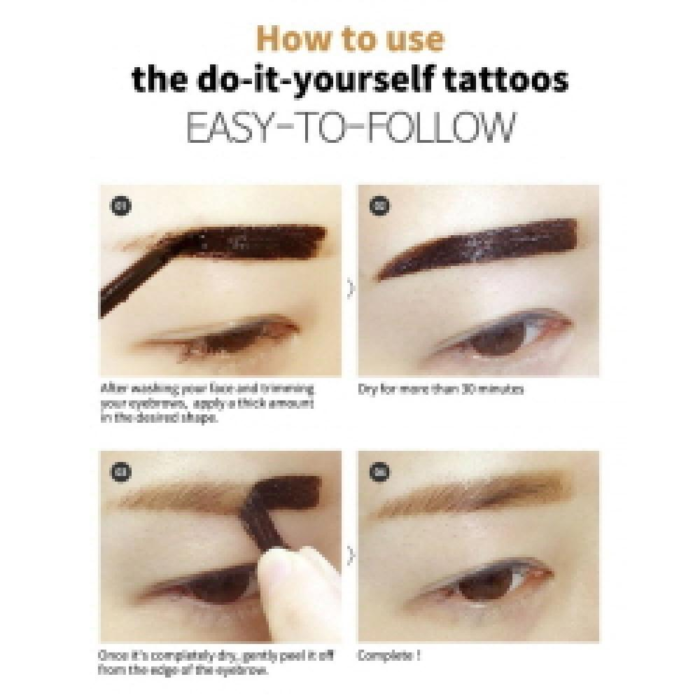 Long-Lasting Gel Tattoo Eyebrow