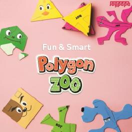 Sticky! POLYGON ZOO- Hexagon Lizard