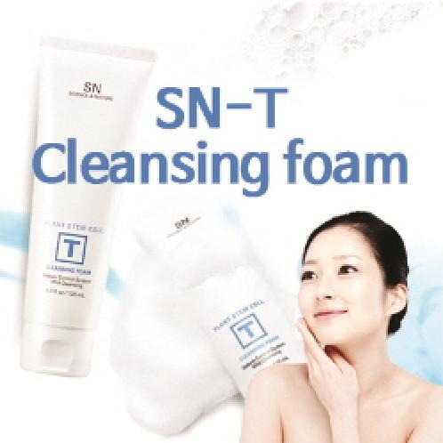 SN-T CLEANSING FOAM | ★SN-T CLEANSING FOAM★Cleansing foam/It can also be used on sensitive skin/Moisturizing care/Pore clean/Blemish Clear/B2C16_2001