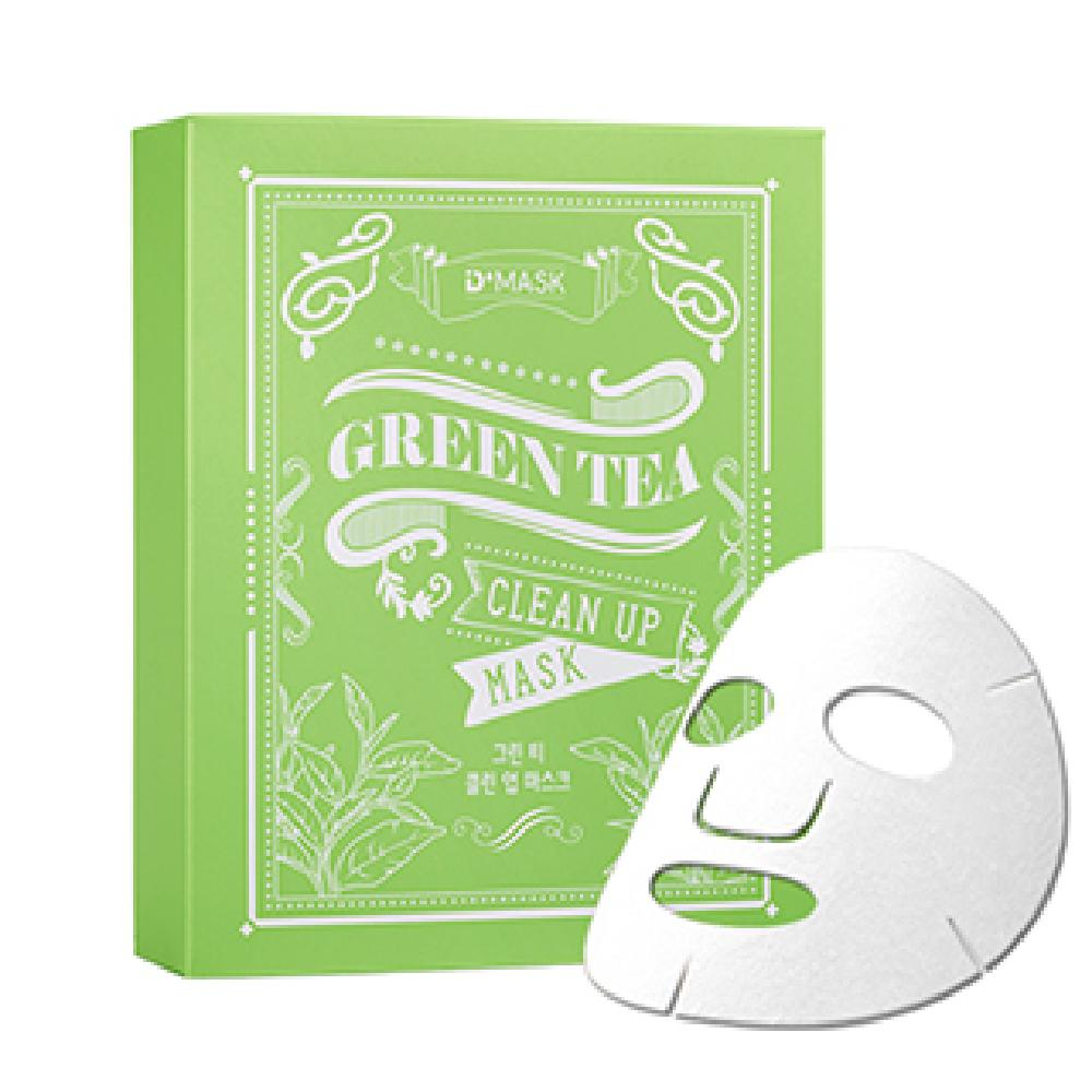 DMASK Green Tea Clean Up Mask