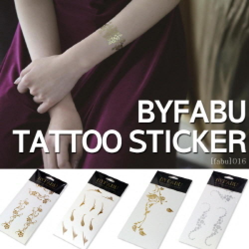 [fabu_012] 111mm (Gold / Silver Tattoo)