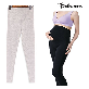 full image [Bebemom] Winter Warm Fleece Lined Maternity Belly Leggings, Ankle Length Pregnancy Seamless Tights,
