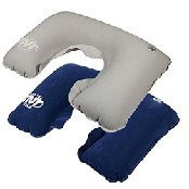 [TNT] Travel Gear Set with Travel Pouch - Air Neck Pillow + Eye Sleep Mask + Ear Plugs