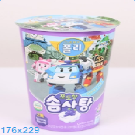 Robocar Poli Cotton Candy (Grape Flavor)