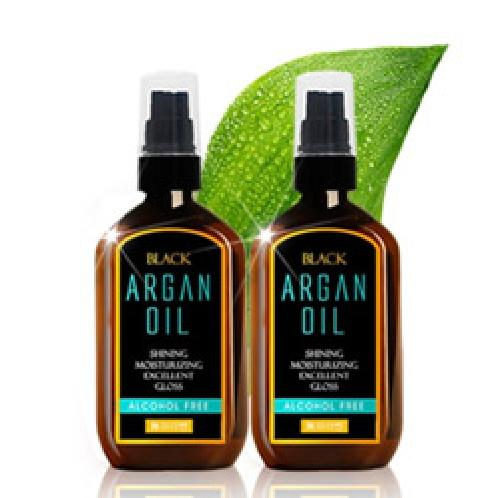 Black Argan Oil Alcohol Free 100ml 1+1 No Paraben / Argan oil for damaged hair / forming a moisturiz | Black Argan Oil Alcohol Free 100ml 1+1 No Paraben / Argan oil for damaged hair / forming a moisturizing film of various vegetable oils on dry hair