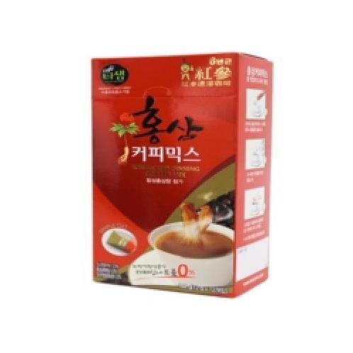 Korean Red Ginseng Coffee Mix 144 g (12 g x 12) | tea,Instant Tea, coffee, coffee mix