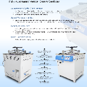 BNF KOREA Automated vertical steam sterilizer