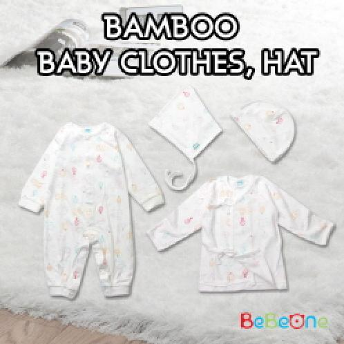 [Bebeone]★Bamboo baby Clothes Hat ★ NEW BORN BABY HAT SET / B2C16_2011 | [Bebeone]★Bamboo baby Clothes Hat ★ baby clothes/ sleep wear/ boys or girls pajamas / baby clothing / kids clothes / MADE IN KOREA / B2C16_2011