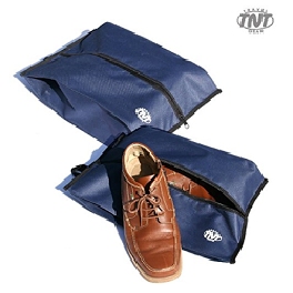 "[TNT] Travel Portable Waterproof Shoes Bag with Zipper Closure 9.8"" x 16.5"" x 4.3""(H)"