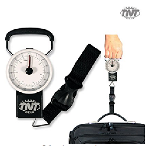 [TNT] Travel Handheld Luggage Scale with 39.4 inch Measuring Tape, Up to 71lbs / 32kg | tnt, travel, bag, weight