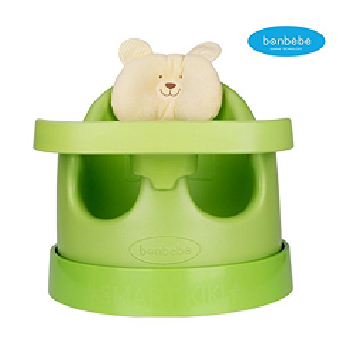 [bonbebe] Premium Jumbo Baby Seat + Safe Tray + Baby Cart Set with Removable Head Pillow - High Back | bonbebe, baby, chair