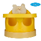 thumbnail image1 [bonbebe] Premium Jumbo Baby Seat + Safe Tray + Baby Cart Set with Removable Head Pillow - High Back | bonbebe, baby, chair