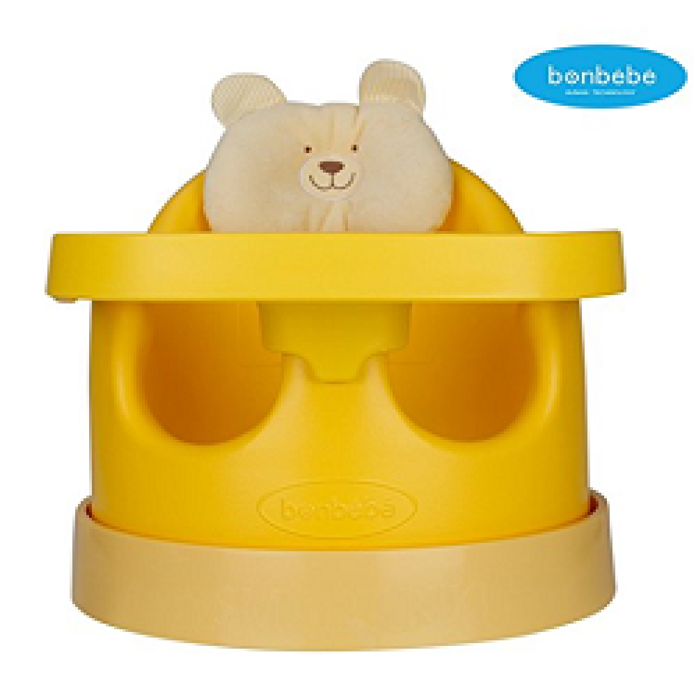 [bonbebe] Premium Jumbo Baby Seat + Safe Tray + Baby Cart Set with Removable Head Pillow - High Back