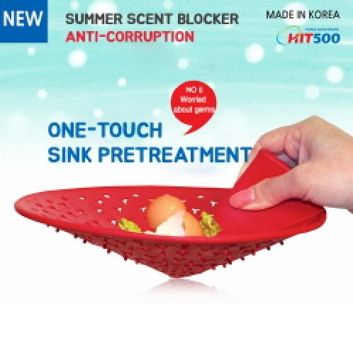 ★One touch Sink Filter★ | ★One touch Sink Filter★Cutlery storage/Sink Shelf/Height Adjustable Sink Dish Drying Rack Sink Drain Filter /Stocking Type net/ B2C16_2025