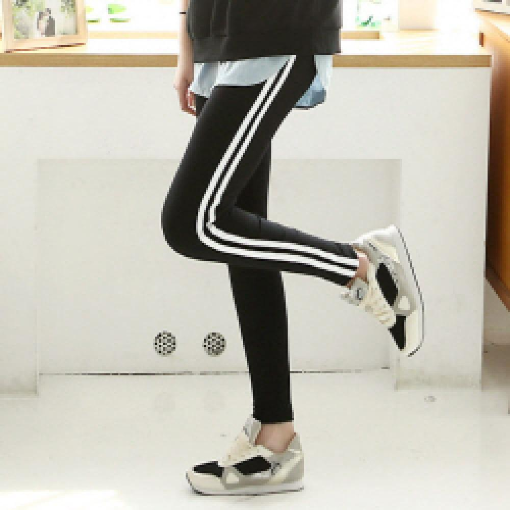 ★SPRTS 2LINE LEGGINGS★ clothes