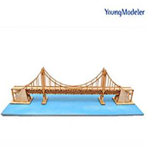 YOUNGMODELER DESKTOP Wooden Assembly Model Kits. (Wide Gwangandaegyo Bridge) | youngmodeler, wooden, toys, kids