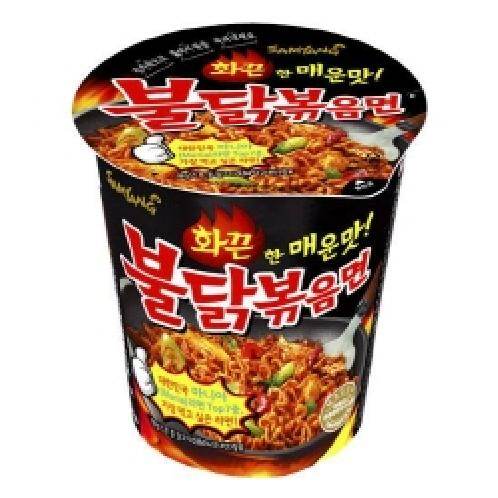 [6EA] Samyang Fire Chicken Noodle Cup 70g | Korean Food,Camping,Traveling,Made In Korea,korchina_bls(컵라면)
