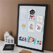 KEISYS Almightyboard Pictureframe type_Small,Office,magnet,Steel,Rubber,MDF