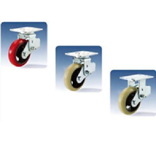 "Noise-free shock absorber casters factory warehouses diameter 5""6""8""swivel rigid 