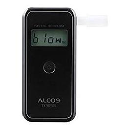 ALCO9 TX9050L Fuel Cell Breathalyzer Portable Breath Alcohol Tester Detector with LCD Display