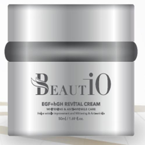 Beautio EGF+hGH Revital Cream | Cosmetic, Skin-care, Anti-aging, EGF, hGH, wrinkle improvement, Whitening effect, Skin elasticity & Vitality, Revital Ampoule, Cosmetics, Cream, EGF, hGH, Functionality, Bio, Wrinkles, Whitening, Anti-aging, Косметическая продукция, крем, EGF, hGH,