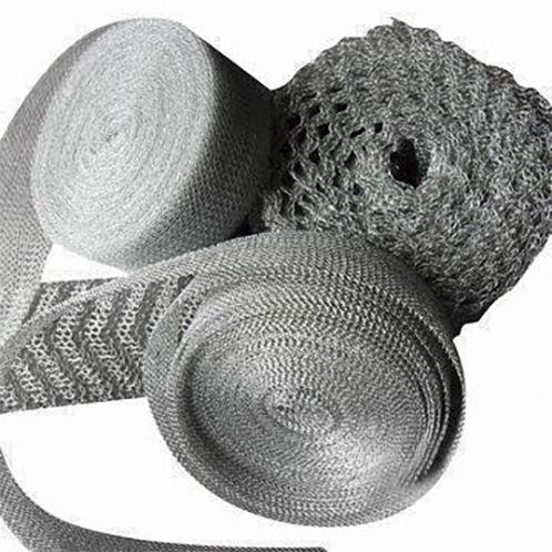 Knitted wire mesh Rolls | stainless wire , sus 304 , wire mesh ring , inconelwire