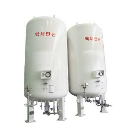 Storage Tank (L-CO2 STORAGE TANK)Diameter : 1500~2250mm / Height : 4490~14761mm