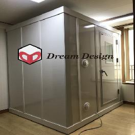 Sound-proof booths