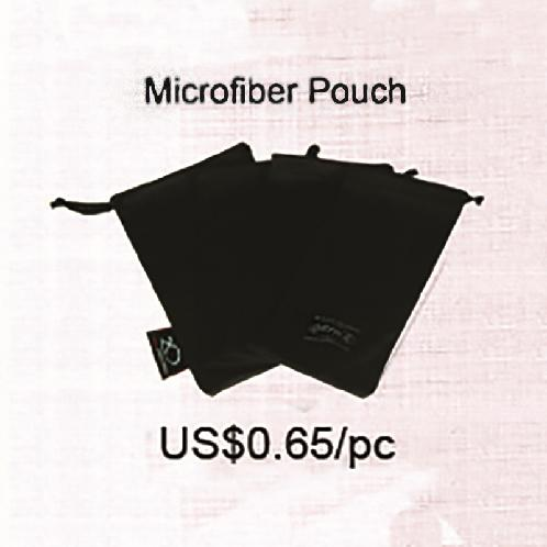 CK-1(15x18xm) Micro POUCH  embo | Glasses, eyeglass wipes, microfiber glasses, pouches