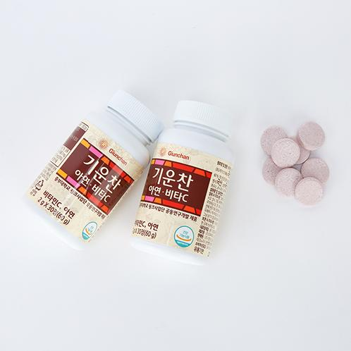 Giunchan Zinc Vita C | vitamin, zinc, Composite mushroom mycelia, immunity control function, medicinal mushroom, health food, organic grape