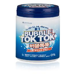 R1 Bubble Tok Tok eco-friendly laundry tablet hydrogen detergent made in Korea